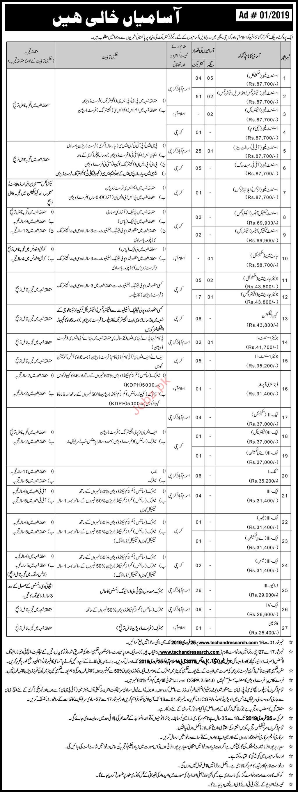 Public Sector Organization Management Jobs 2019