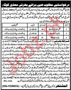 Punjab Livestock & Dairy Development Department Jobs 2019