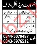 Medical Job 2019 For Hospital in Rawalpindi