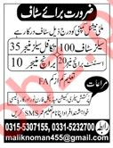 Salesman, Sales Manager, Assistant, Branch Manager Jobs 2019