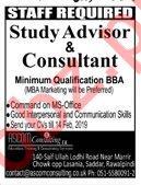 Study Advisor & Consultant Jobs 2019 in Rawalpindi