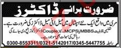 Doctors Jobs 2019 For Hospital in Murree