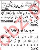 Nawaiwaqt Sunday Classified Ads 10th Feb 2019 Hotel Staff