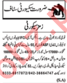 Security Guards Jobs Open in Lahore