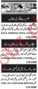 Sales & Marketing Staff Jobs 2019 in Islamabad