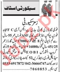 Security Guard, Security Supervisor, Driver & Clerk Jobs