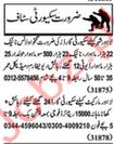 Security Staff Jobs 2019 in Multan