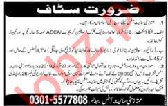 Accountant & Driver Jobs 2019 in Islamabad / Rawalpindi