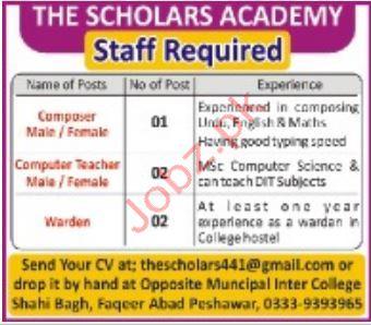 Teaching Staff jobs in The Scholars Academy