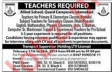 Allied Schools Teacher Job Opportunities