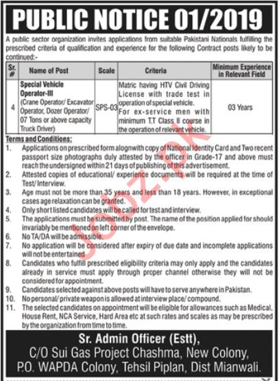PAEC Pakistan Atomic Energy Commission Jobs in Mianwali