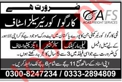 Cargo & Courier Sales Staff Jobs 2019 in Karachi & Lahore
