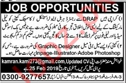 Graphic Designer & Marketing Jobs 2019 in Karachi