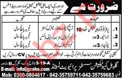 Global Communication System Private Limited Jobs 2019