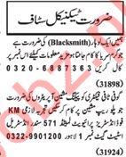 Nawaiwaqt Sunday Classified Ads 17th Feb 2019 for Technical