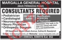Margalla General Hospital Rawalpindi Jobs 2019 for Doctors