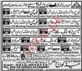 Labor Supervisor Foreman Jobs in Saudi Arabia  2019 Job