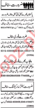 Daily Nawaiwaqt Newspaper Classified Jobs For Lahore
