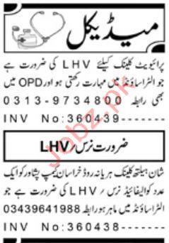 Medical Staff Jobs 2019 in Peshawar - Latest News Headline