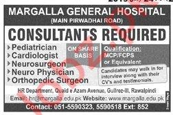 Margalla General Hospital Rawalpindi Jobs 2019