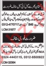 Daily Nawa i Waqt Miscellaneous Staff Jobs 2019 in Multan