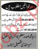 Chowkidar Jobs in Boys High School