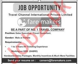 Travel Channel International Fare Maker Jobs 2019 Job Advertisement