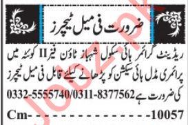 Teachers, Principal & Vice Principal Jobs 2019 in Quetta