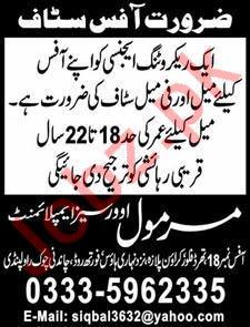Marmol Overseas Employment Rawalpindi Jobs 2019