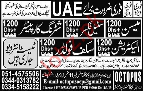 Steel Fixer & Shuttering Carpenter Jobs in Saudi Arabia