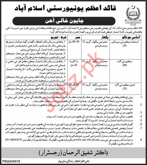 Assistant Security Supervisor & Security Guard Jobs 2019