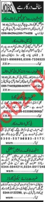 Office Staff Jobs 2019 in Islamabad