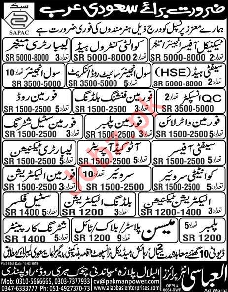Engineer, Manager, Laboratory Manager & Safety Officer Jobs
