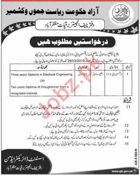 Draftsman Jobs in Electricity Department