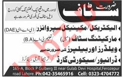 Engineering Company Jobs 2019 in Lahore
