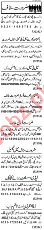 Office Staff Jobs Open in Lahore