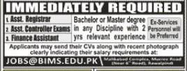 Assistant Registrar Jobs in Barani Institute of Management