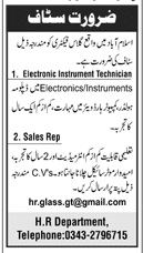 Electronic Instrument Technician Jobs in Private Company