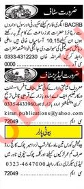 Khabrain Sunday Classified Ads 24th March 2019 Office Staff