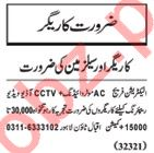 Nawaiwaqt Sunday Classified Ads 24th March 2019 Technical