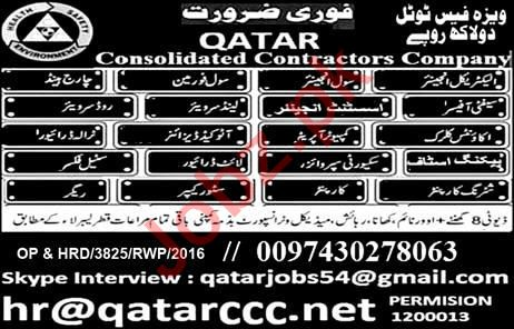 Engineer & Surveyor Job in Qatar