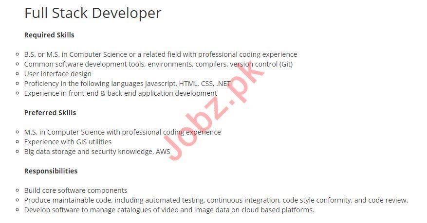 Full Stack Developer jobs in Altec Resource Group