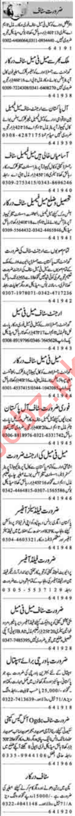 Daily Dunya Miscellaneous Staff Jobs 2019 in Lahore