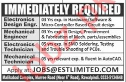 Engineer, Mechanical Engineer & Mechanical Technician Jobs
