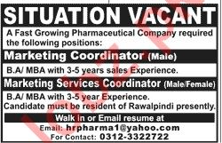Marketing Coordinator & Marketing Services Coordinator Jobs