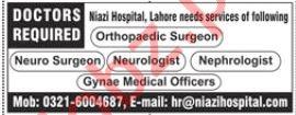 Neuro Surgeon, Neurologist, Nephrologist & Doctor Jobs