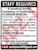 Manager Marketing Jobs in Private Company