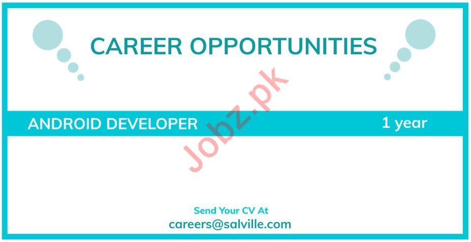 Salville Technologies Rawalpindi Jobs for Android Developer