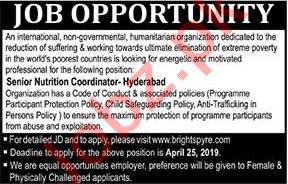 Nutrition Coordinator Job in Hyderabad