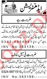 Model & Actor Job in Peshawar